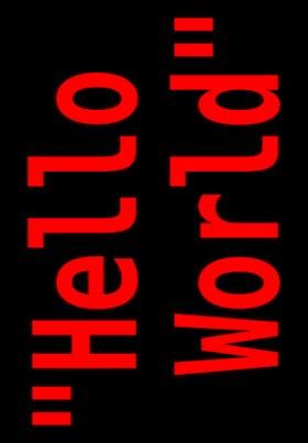 Пример мир - Hello World