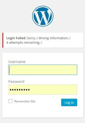 Хорошая защита админки Wordpress